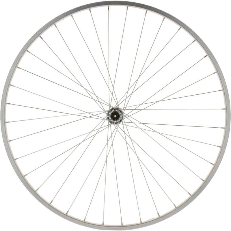 """KEREKEK TÚRAKERÉKPÁRHOZ Kerékpározás - Első kerék 28"""" túrakerékpárhoz BTWIN - Alkatrész, tárolás, karbantartás"""