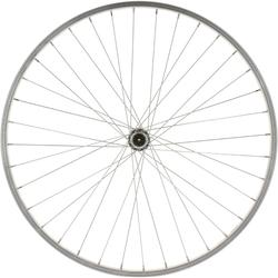 "RUEDA BTT 26"" PLATEADA DELANTERA PARED SIMPLE"
