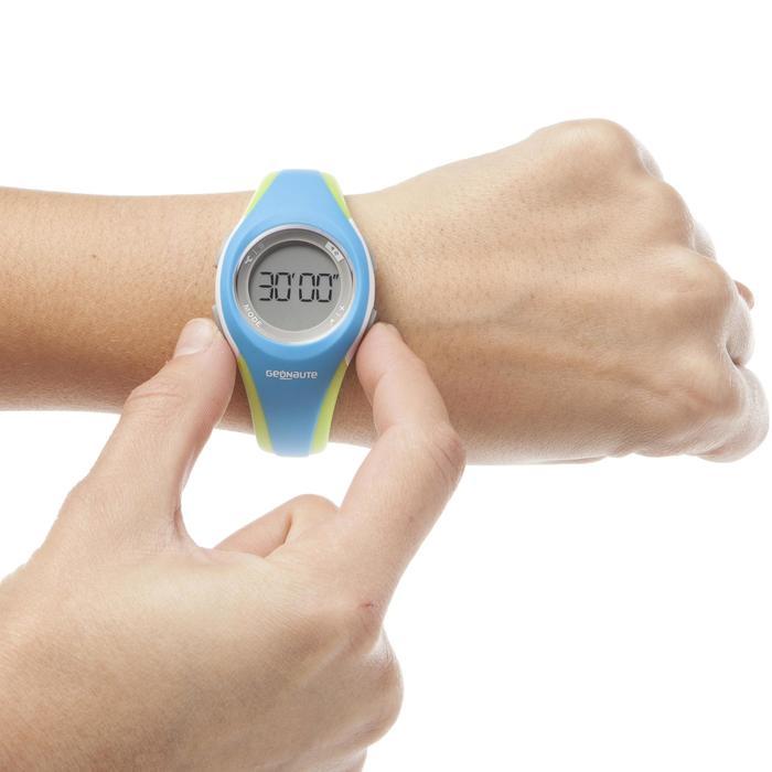 Reloj cronómetro running mujer/junior W200 S azul y verde