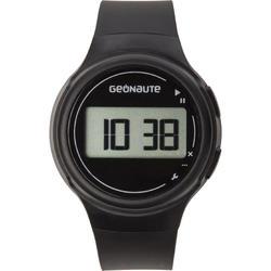 Digitaal sporthorloge met stopwatch voor dames en kinderen W100 S, zwart