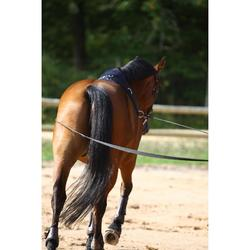 Riendas largas equitación negro