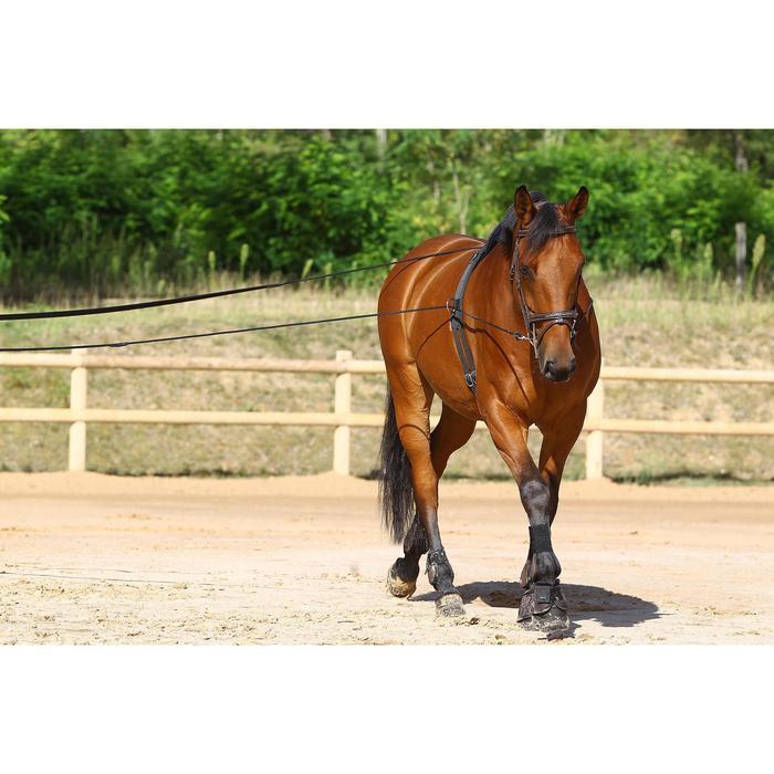 Longues rênes équitation noir - 458431