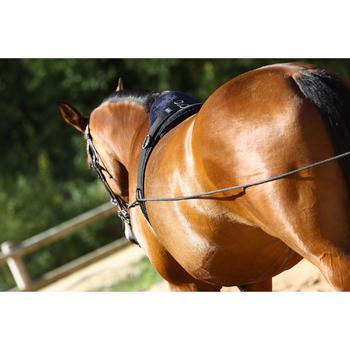 Longues rênes équitation noir - 458432