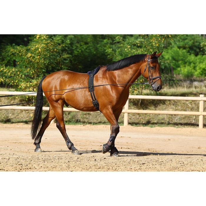 Longues rênes équitation noir - 458435