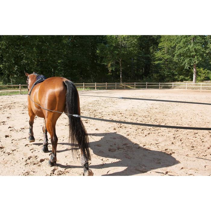 Longues rênes équitation noir - 458436