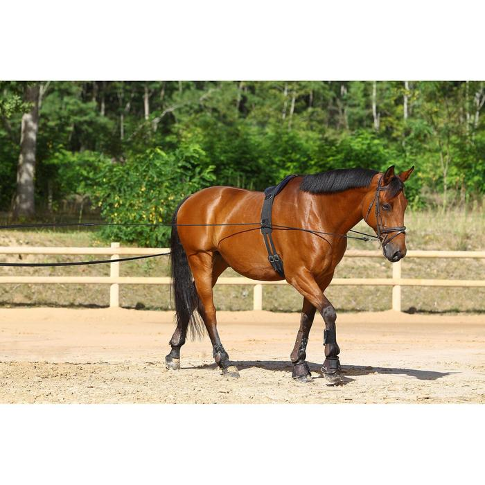 Longues rênes équitation noir - 458437