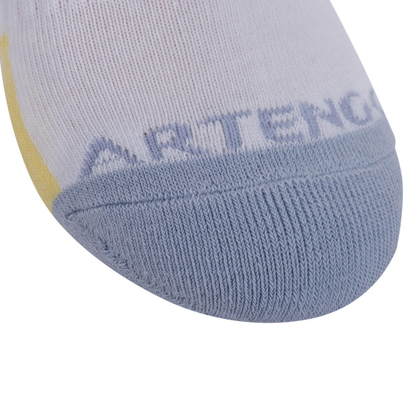 CHAUSSETTES DE SPORT MID JUNIOR RS800 BLANC MIX LOT DE 3