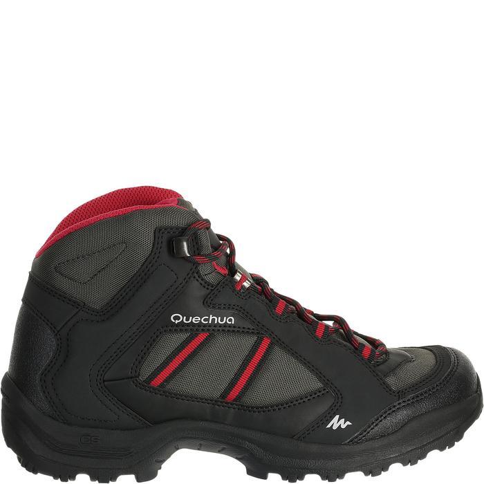 Chaussures de randonnée Nature femme Arpenaz 50 MID L noir rose. - 458588