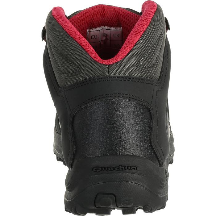 Chaussures de randonnée Nature femme Arpenaz 50 MID L noir rose. - 458593