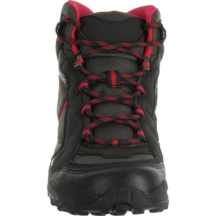 Chaussures de randonnée Nature femme Arpenaz 50 MID L noir rose. - 458595