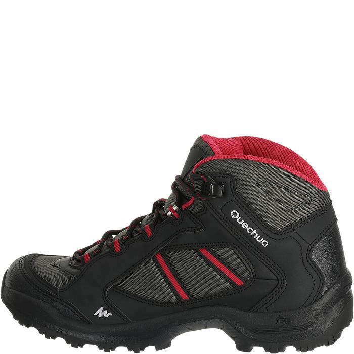 Chaussures de randonnée Nature femme Arpenaz 50 MID L noir rose. - 458597