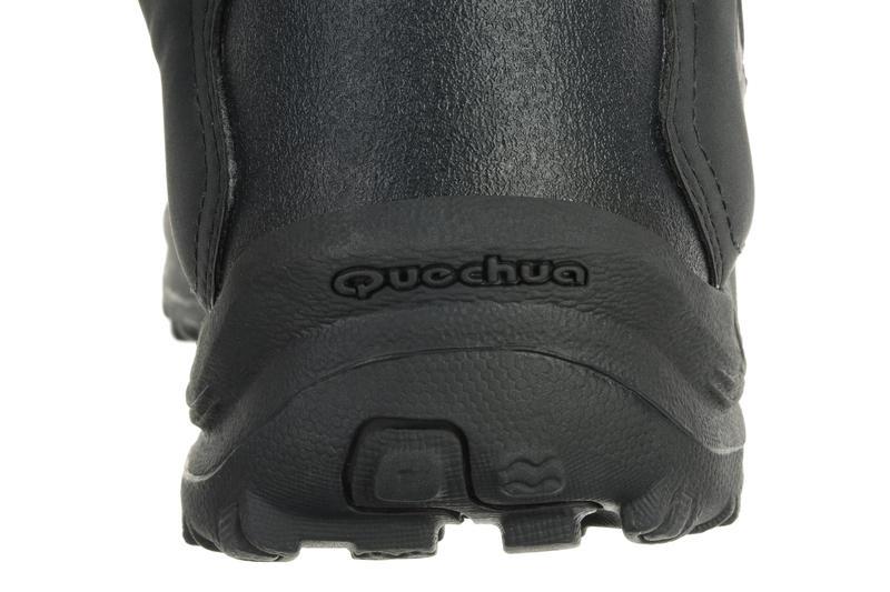 Chaussures de randonnée Nature femme Arpenaz 50 MID L noir rose.