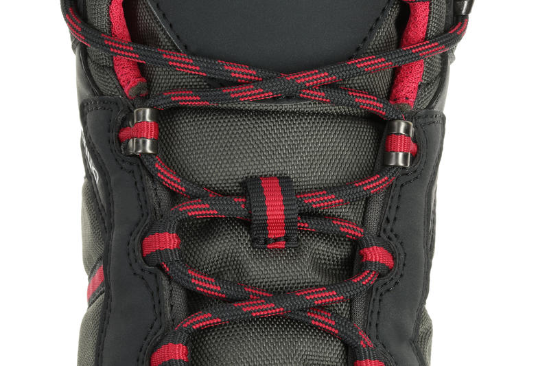 Arpenaz 50 Mid Women's Hiking Boots - Black/Pink.
