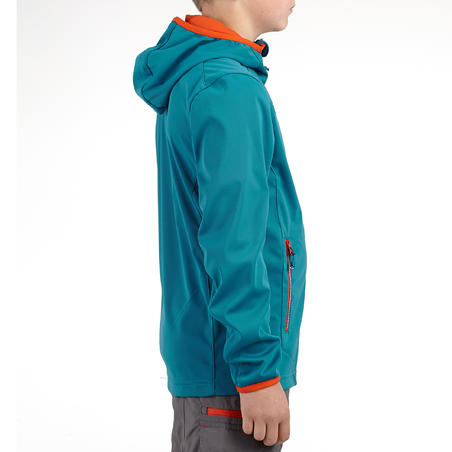 Quincha Softshell Light Boy's Lyons Blue