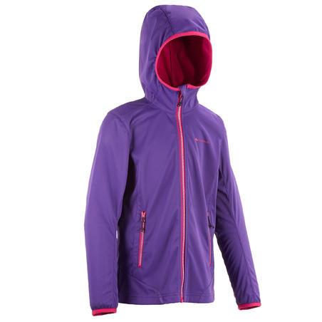Softshelljacke Quincha Light Mädchen violett
