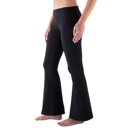 Women's Boot-Leg Bottoms - Black