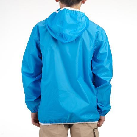 veste imperm able de randonn e enfant raincut bleu quechua. Black Bedroom Furniture Sets. Home Design Ideas