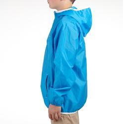 Chaqueta impermeable de senderismo júnior Raincut azul