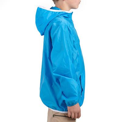 جاكت للأطفال Hike 100 للمشي لمسافات طويلة – لون أزرق