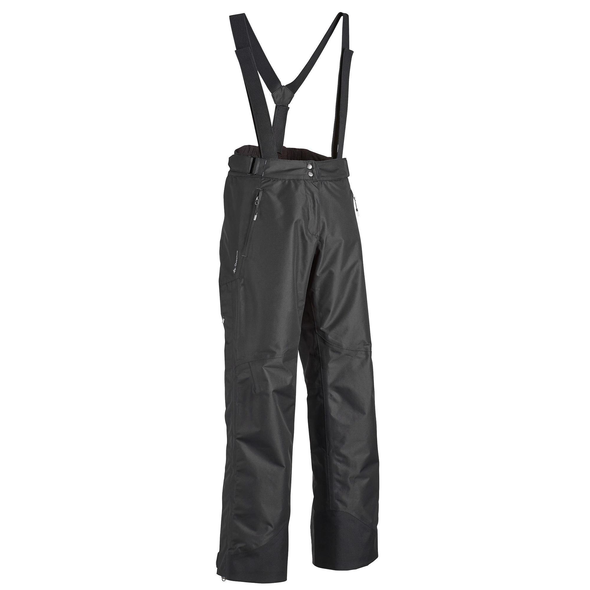 Regenhose MH500 Damen schwarz | Sportbekleidung > Sporthosen > Regenhosen | Schwarz | Quechua