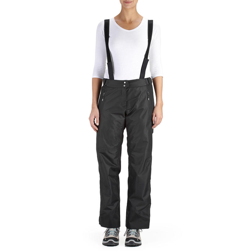 ... Sur-pantalon de pluie imperméable de randonnée Montagne MH 500 Femme  Noir ... bc09dff7793a