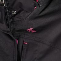 Arpenaz 300 Women's Waterproof Hiking Rain Jacket - Black