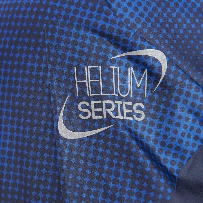 Chaqueta cortaviento de senderismo rápido Hombre FH500 Helium Wind Azul