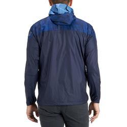 Veste coupe vent de randonnée rapide Homme FH500 Helium wind Bleu