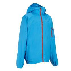 Hike 100 Children's Windbreaker Hiking Jacket - Blue