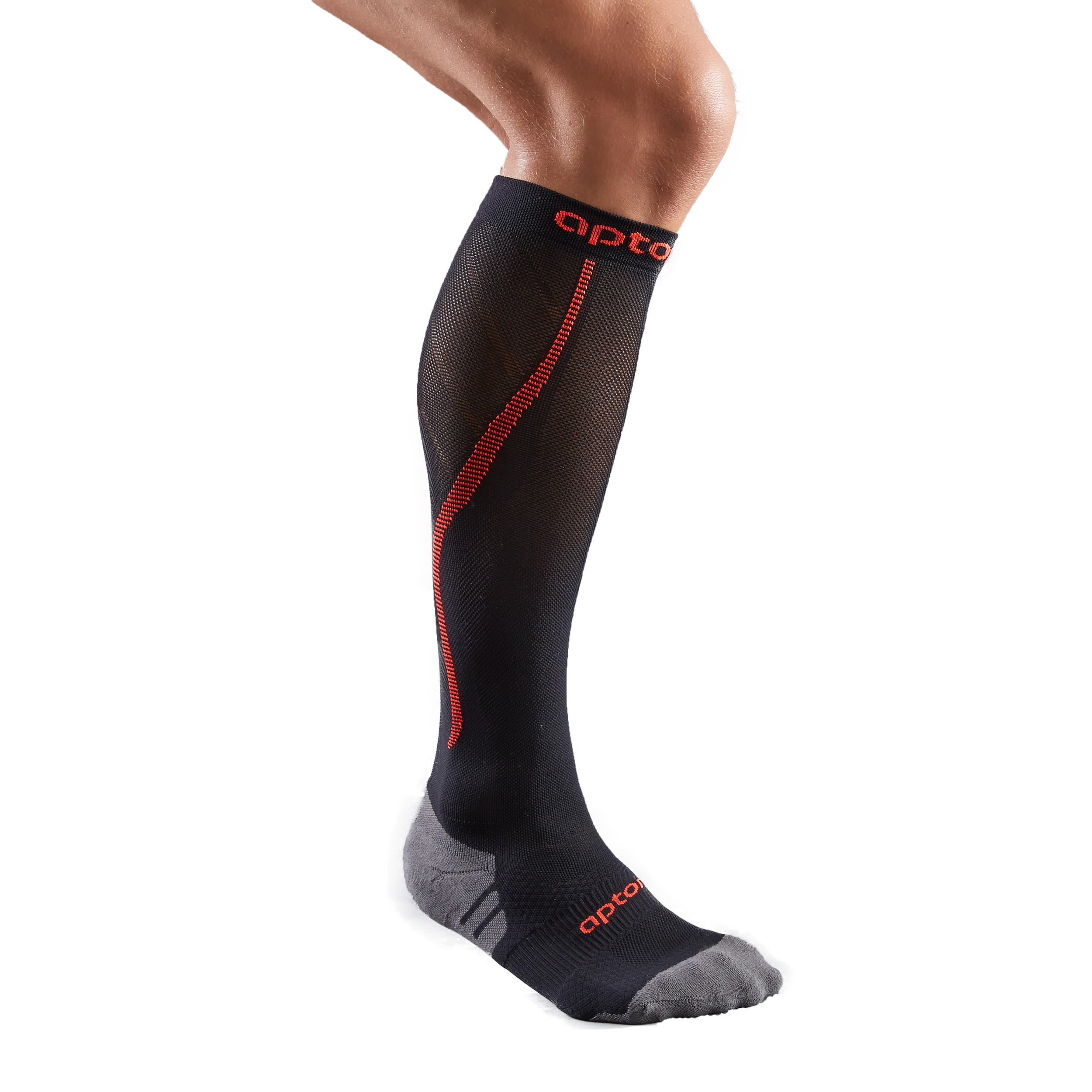 Compression Socks - Black/Orange