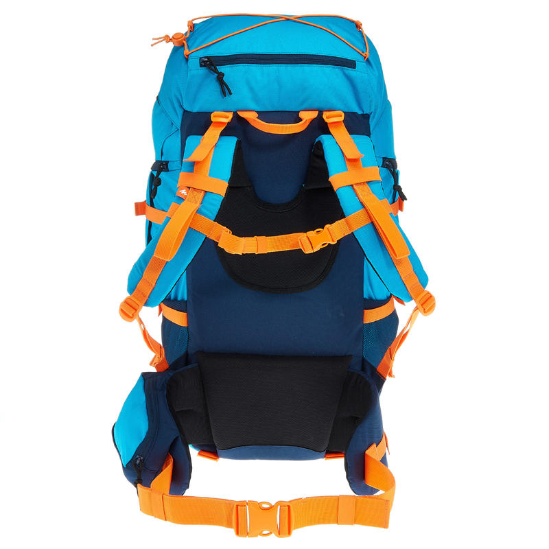 MH500 Kids' 40L Hiking Backpack - Blue
