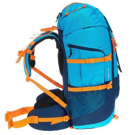 sac dos randonn e forclaz 40l junior bleu quechua. Black Bedroom Furniture Sets. Home Design Ideas