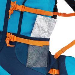 Wandelrugzak voor kinderen MH500 40 liter blauw