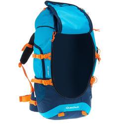 MH500 Kids 40L Hiking Backpack - Blue