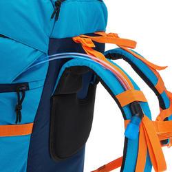 MH500 Kids' 40L Hiking Backpack - Blue