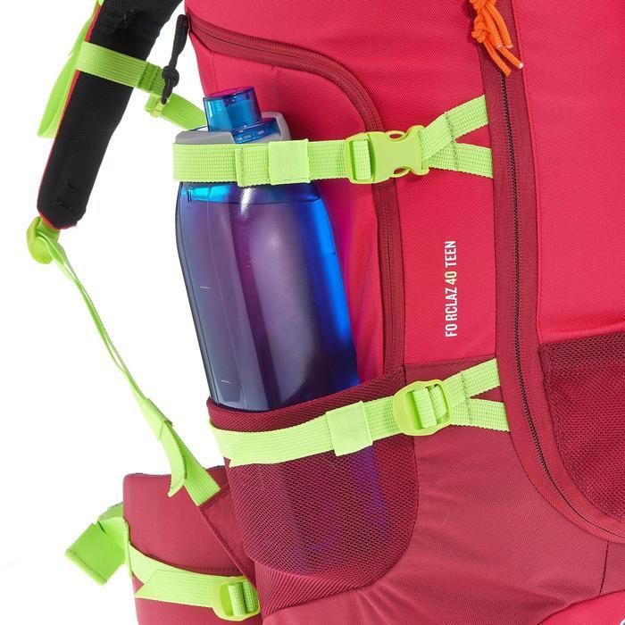 Wanderrucksack Forclaz 40 Liter Kinder rosa