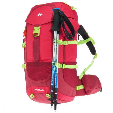 Forclaz 40 L Junior hiking backpack - Pink   Quechua