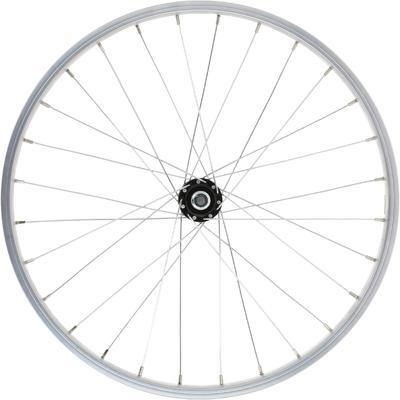 Kids' Bike Wheel 20_QUOTE_ Front Single Wall Rim - Silver