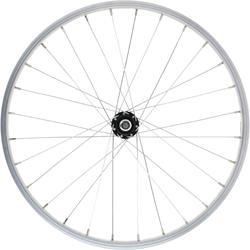 Roda dianteira 20 polegadas bicicleta criança, parede simples prateado