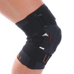 Kniebandage voor volwassenen Strong 700 zwart