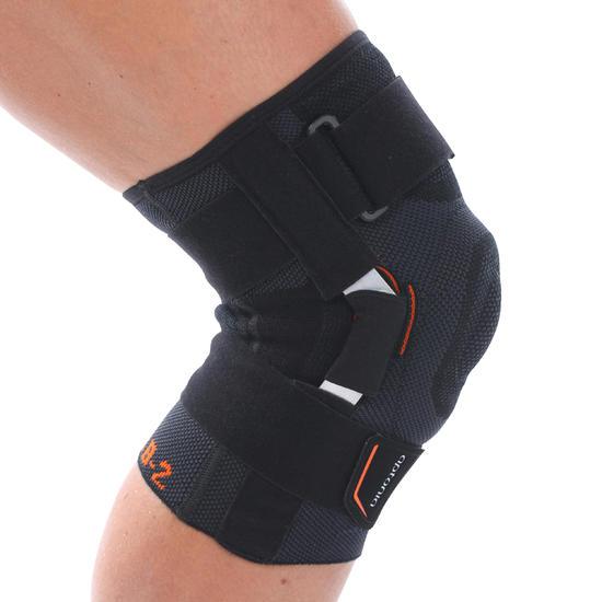 Kniebandage voor volwassenen Strong 700 zwart - 462048