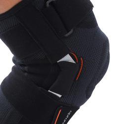 Genouillère de maintien ligamentaire gauche/droite STRONG 700 noire - H/F