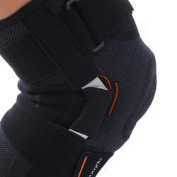 Rodillera izquierda/derecha sujeción ligamentos Hombre/Mujer STRONG 700 negro