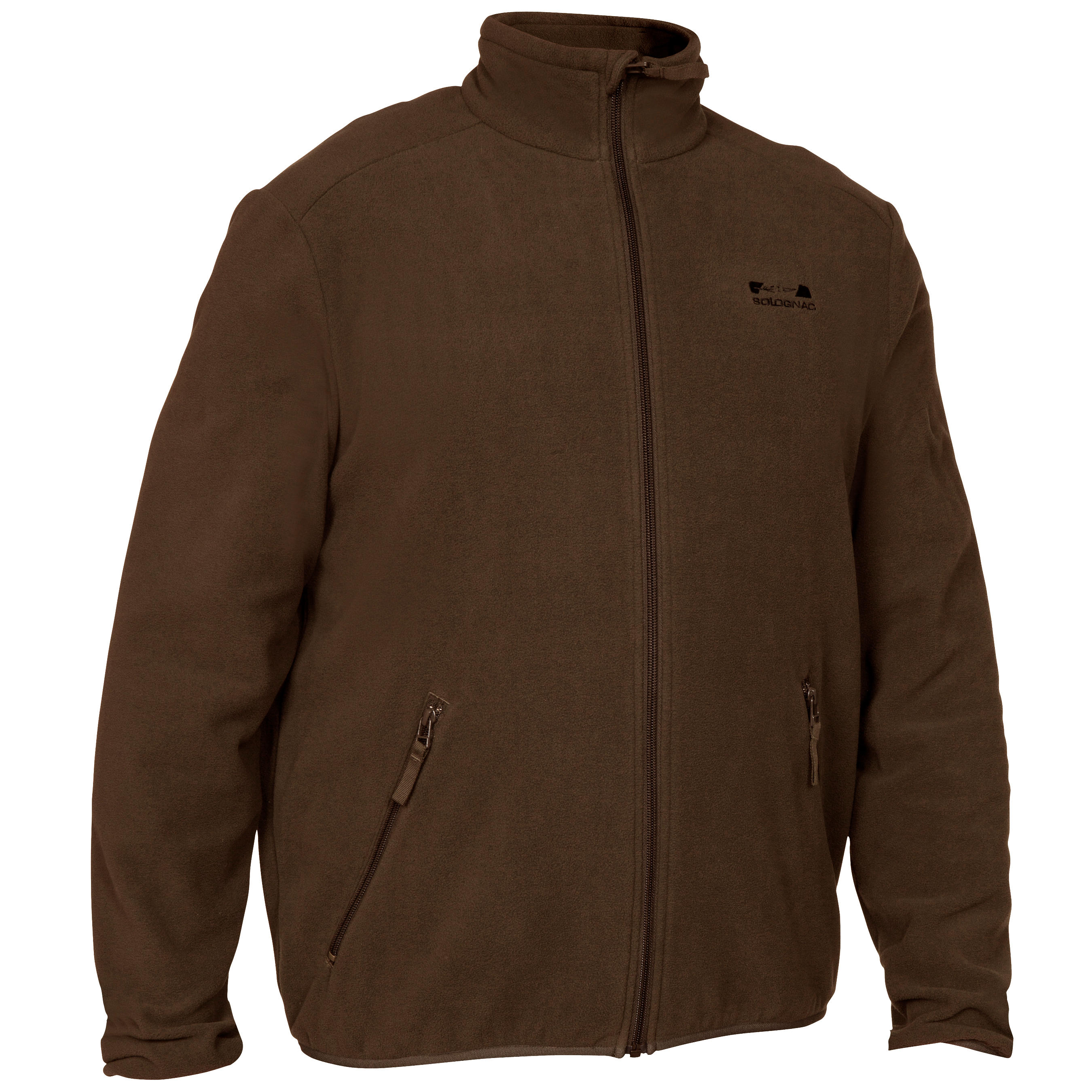 Mens Fleece 100 Brown