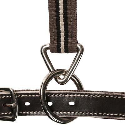 Licol équitation poney et cheval PERFORMER marron et beige