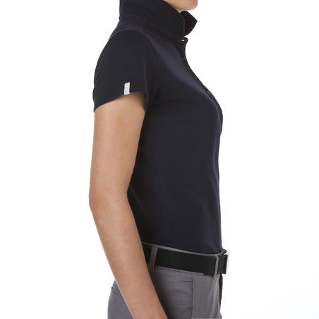 INTAC'TEE WOMEN'S GOLF POLO NAVY