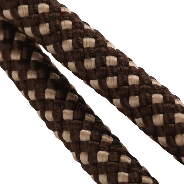 Rênes allemandes cuir et corde équitation cheval ROMEO - 462294