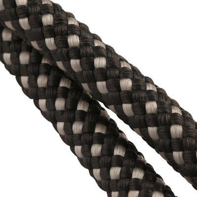 Riendas alemanas de cuero y cuerda equitación fouganza ROMEO caballo negro
