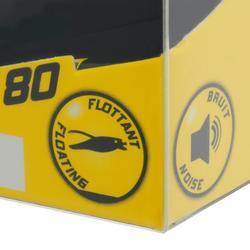 Kunstvisje hengelsport Murray 80 Holo Lemon