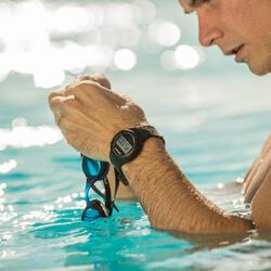 Ditigaal sporthorloge met stopwatch voor heren W100 M zwart - 463358